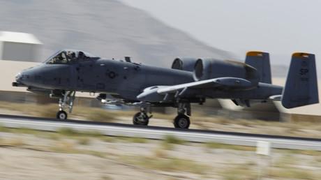 Un avion de combat américain, A-10 Thunderbolt II