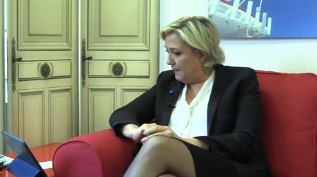 Capture d'écran, compte Facebook de Marine Le Pen