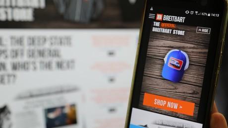 Les annonceurs de Breitbart «tombent comme des mouches» sous la pression d'associations