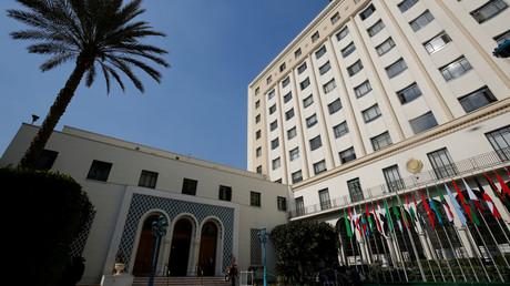 Le Q.G. de la Ligue Arabe au Caire