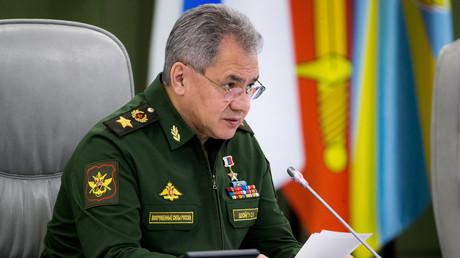Ministre de la Défense russe Sergueï Choïgou