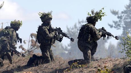 Les forces de l'OTAN