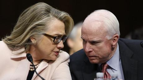 Hillary Clinton et John McCain