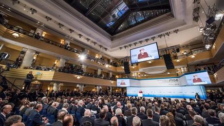 La réunion de la Conférence sur la sécurité à Munich, Allemagne
