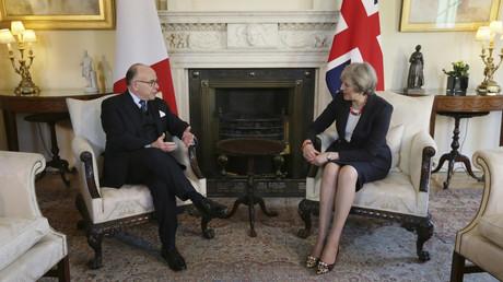 Bernard Cazeneuve et Theresa May