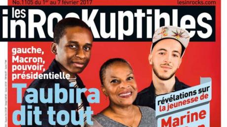 La couverture des Inrocks du 1er février, avec, à droite, Mehdi Meklat