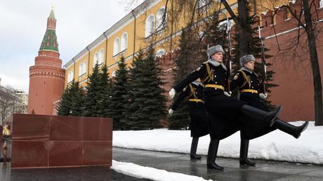 Les murs du Kremlin (photographie d'illustration)