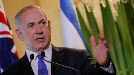 Benjamin Netanyahou en Australie