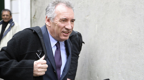 François Bayrou le 22 février 2017, photo ©JACQUES DEMARTHON / AFP