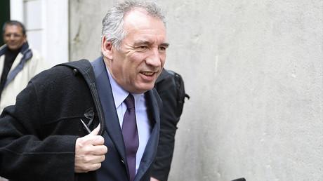 François Bayrou le 22 février 2017, photo ©JACQUES DEMARTHON / AFP