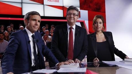 Economie, Europe et… Poutine au menu de l'Emission politique, pour Jean-Luc Mélenchon