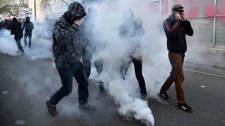 La manifestation anti-FN a rapidement dégénéré à Nantes