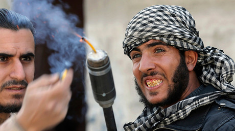 Les terroristes en Syrie