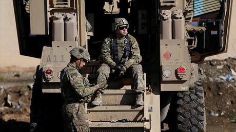 Soldats de l'armée américaine près de Mossoul en Irak le 5 janvier 2017, photo ©Ammar Awad/Reuters