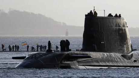 Un sous-marin britannique