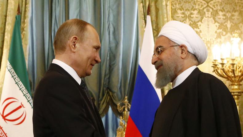 Rohani à Moscou : un pas de plus dans la coopération antiterroriste entre la Russie et l'Iran