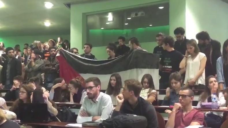 L'ambassadeur d'Israël boycotté par des étudiants pro-palestiniens à Sciences Po Rennes (VIDEO)