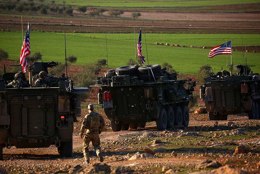 Repérée dans le nord de la Syrie, l'armée américaine se justifie et parle de «dissuasion»