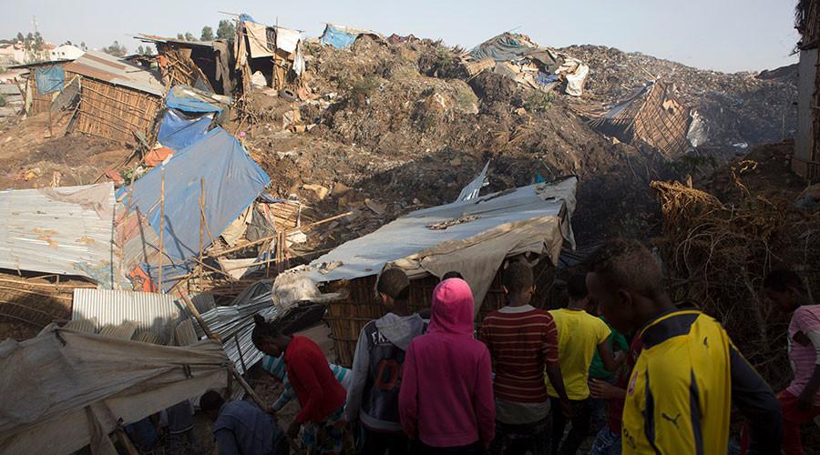 Au moins 48 morts dans l'effondrement d'une montagne d'ordures en Ethiopie
