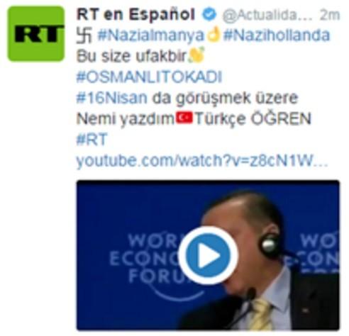 Référendum turc : de nombreux comptes Twitter, dont celui de Bercy et de RT, piratés