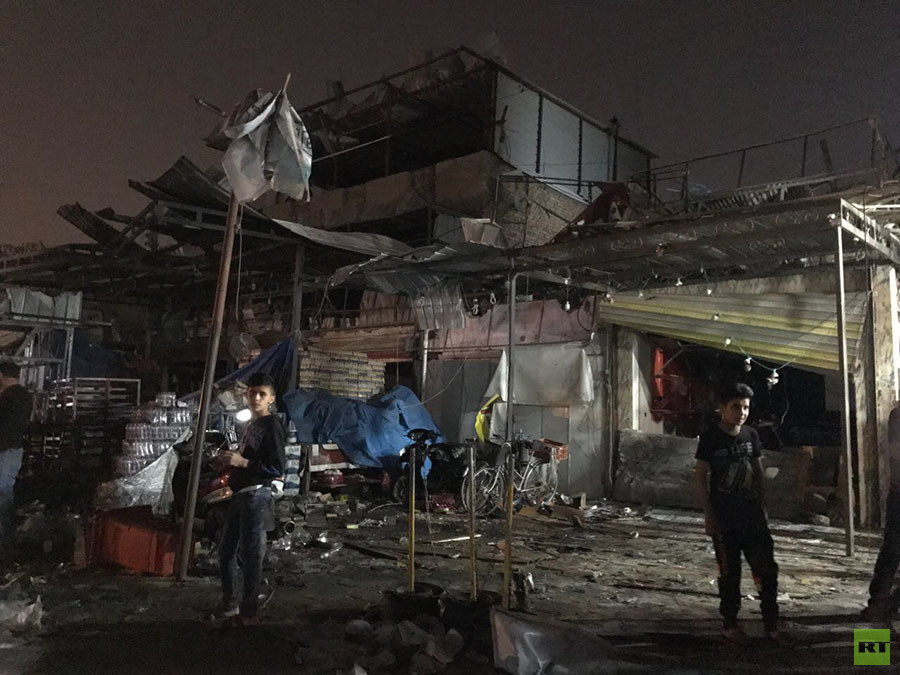 Explosion d'une voiture piégée à Bagdad : 23 morts et des dizaines de blessés (IMAGES)