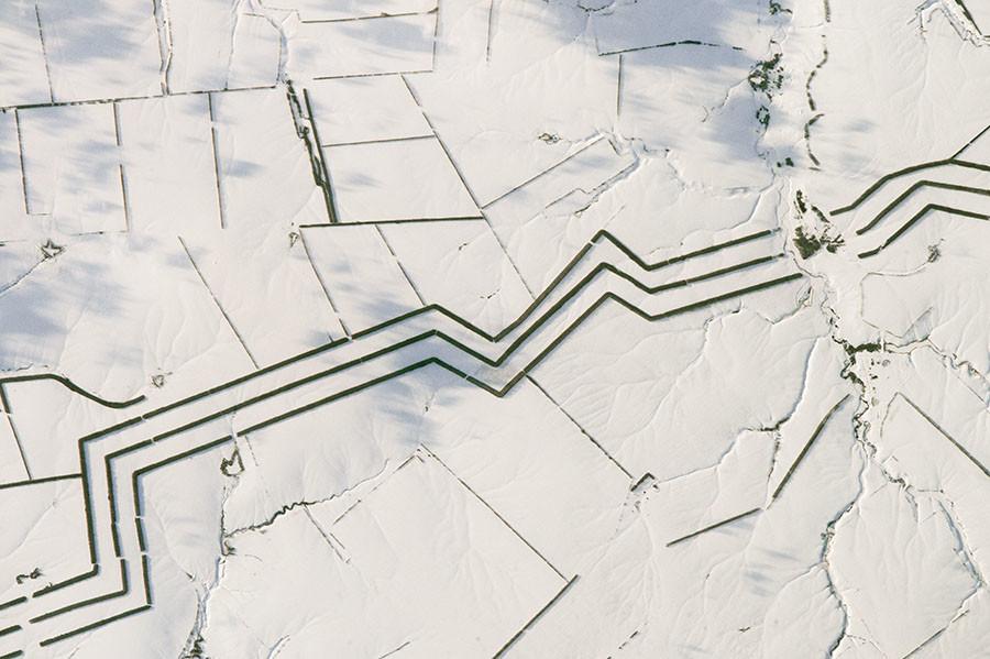 Les mystérieuses photos de la steppe russe de Thomas Pesquet éveillent l'imagination d'internet