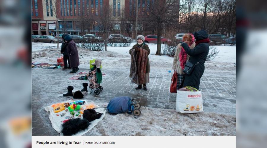 Quand un tabloïd britannique confond fête traditionnelle russe des crêpes et combats de hooligans