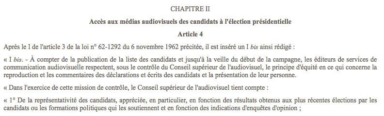 Hamon, signataire de la loi privant les petits candidats de débat... sur la foi des sondages