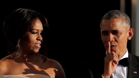 Le couple Obama signe un contrat record de 65 millions d'euros pour la publication de ses mémoires
