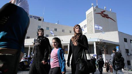 Des Palestiniens à Jérusalem-Est