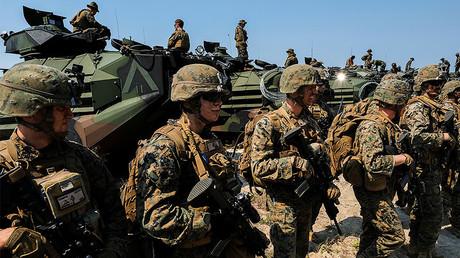Des marines américains