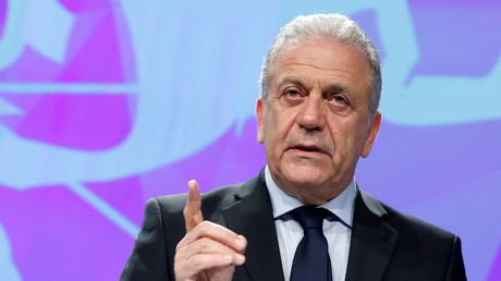 Le commissaire européen chargé des migrations, Dimitris Avramopoulos