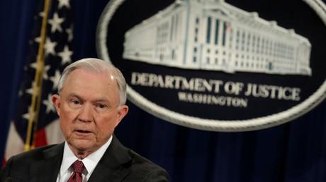 Ministre de la Justice, Jeff Sessions