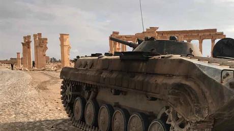 La libération de Palmyre est une opération «planifiée» et «supervisée par les militaires russes»