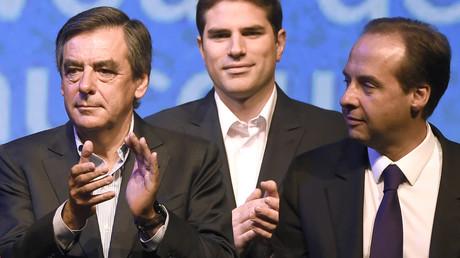 François Fillon et  Jean-Christophe Lagarde (à droite), photo ©DOMINIQUE FAGET / AFP