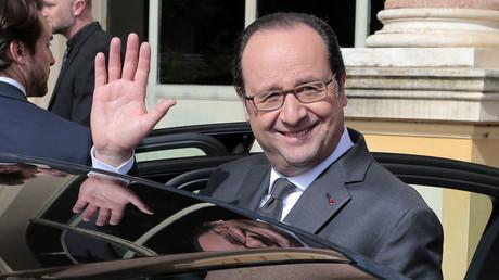 Hollande s'inquiète du succès du FN et accuse la Russie d'«influencer les opinions publiques»