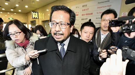 L'ambassadeur malaisien en Corée du Nord, Mohamad Nizan Mohamad