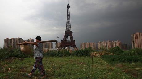 Programme immobilier de la ville fantôme de Tianducheng, en périphérie de Hangzhou, Chine, photo ©Aly Song/Reuters