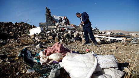 Les destructions au Yémen, image d'illustration