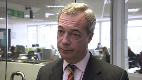 Nigel Farage interviewé par RT