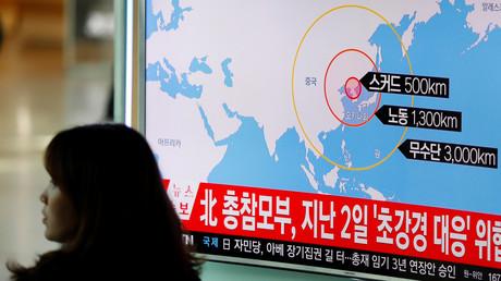 Pyongyang a tiré quatre missiles le 6 mars
