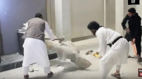 Les forces irakiennes ont repris le musée de Mossoul vandalisé par l'EI