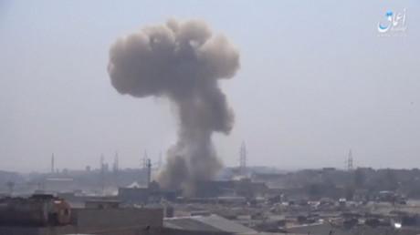 Explosion à Mossoul, le 9 mars