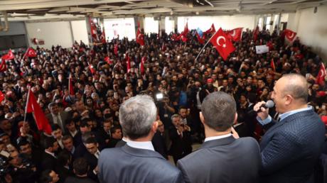 Le meeting pro-Erdogan organisé à Metz en présence du chef de la diplomatie turc