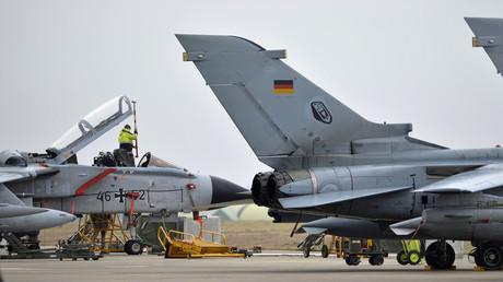 Des avions allemands sur la base militaire d'Incirlik, en Turquie