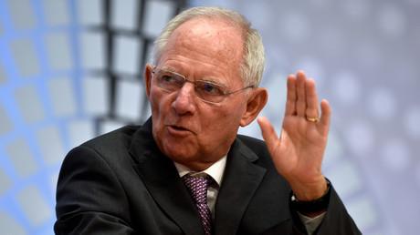 Le ministre allemand des Finances Wolfang Schäuble