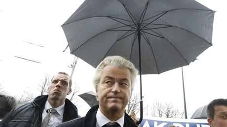 Le président du Parti de la liberté néerlandais Geert Wilders