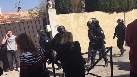 Les forces de l'ordre déployées à Grasse