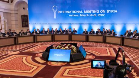 Les négociations sur la Syrie à Astana