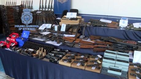 La saisie de 10 000 armes illégales en Espagne montre que «l'ensemble de l'Europe est vulnérable»